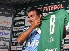 Apresentado, Cuca esquece time ideal e foca em decisão do Palmeiras #globoesporte