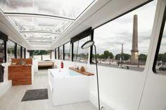 Une nuit à Paris dans un bus à ciel à ouvert