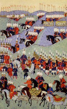 ZAFERNÂME ADLI ESERDEN / NAKKAŞ OSMAN-Türk İslam Sanatları ༺✿༻Minyatür Sanatı