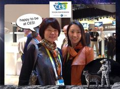 happy to be at CES! #CES2015 #PixeSocial