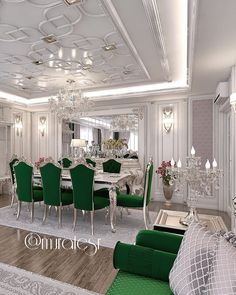 Image may contain: table and indoor Dining Suites, Luxury Dining Room, Classic Dining Room, Elegant Living Room, Living Room Sets, Living Room Designs, Living Room Decor, Dining Room Table Decor, Dining Room Furniture