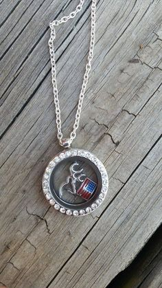 Southern Girl silver floating deer and usa america by Featherpick