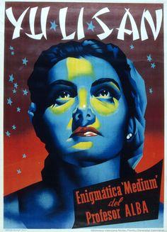 "Yu Li San : Enigmatic ""Medium"" by Professor Alba, Anonymous, 1950?. Biblioteca Valenciana Digital, Bivaldi. Public Domain."