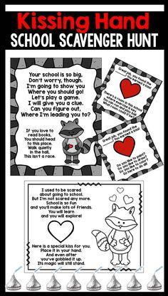 Kissing Hand FUN for the beginning of the Year!