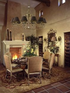 Interior , Bring Back The Classic Moments at Home Through Old World Decorating Ideas : Sweet Old World Decor With Romance Look
