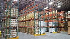 California warehouse installation with seismically engineered FlexRack® pallet rack from Next Level. Supply Chain Management, Positive Images, Storage Solutions, Warehouse, Pallet, Engineering, Building, Abcs, Blog