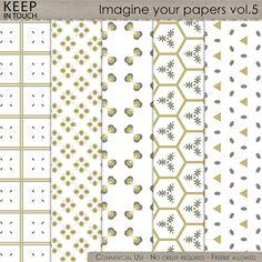 Imagine your papers - Patterns Vol.5 , cudigitals.com, cu, commercial, scrap, scrapbook, digital, graphics,