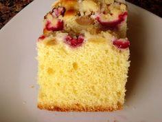 Drożdżowe z rabarbarem, truskawkami pod kruszonką: krystyna9 — LiveJournal Vanilla Cake, Food And Drink, Sweets, Blog, Kuchen, Gummi Candy, Candy, Goodies, Blogging