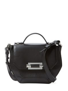 Pacey Small Leather Crossbody by Mackage at Gilt