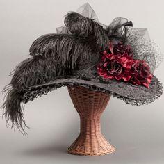 Chapeaux victoriens / Kentucky Derby chapeaux/mariée / Edwardian chapeaux / Steampunk chapeaux, chapeaux gothique. chapeaux historique « Sweet Temptation »