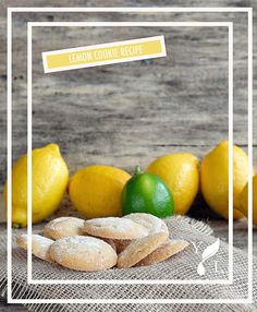 Lemon Sugar Cookie Recipe with raw cane juice crystals! Full recipe on Young Living Facebook.  https://www.facebook.com/YoungLiving/photos/a.493560596981.278740.29796911981/10153425284901982/?type=1&theater
