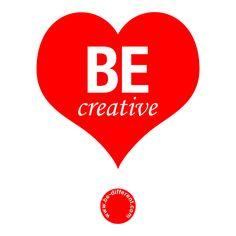 Be Creative www.be-different.com Dares, Flexibility, Presents, Positivity, Joy, Logos, Simple, Unique, Creative