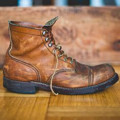 Amazing Red Wing Iron Ranger