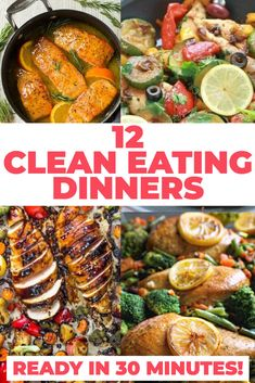 Delicious Clean Eating Easy Clean Eating Dinner Recipes Ready To Eat In 30 Minutes. Pin On Yum. Home and Family Clean Eating Recipes For Dinner, Healthy Dinner Recipes, Keto Recipes, Lunch Recipes, Low Carb Veggie, Healthy Family Meals, The Best, Healthy Eating, Healthy Foods