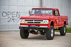 1965-71 Dodge crew cab 4x4 pickup truck