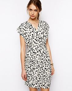 spotted dress