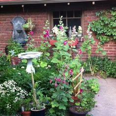 Bungalow secret garden
