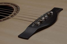 Doug Young | Pickup Tests... also like the stone saddle and bridge pins