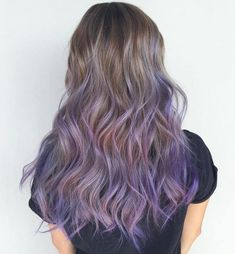 Thank you for visiting shockingly purple hair highlights images. Purple Brown Hair, Pastel Purple Hair, Lilac Hair, Hair Color Purple, Light Brown Hair, Brown Hair Colors, Violet Brown, Light Purple Hair, Hair Highlights Images
