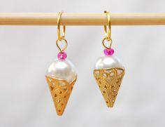 Pludrehanne: Søtsaker på en lørdag Drop Earrings, Diy, Jewelry, Jewlery, Bricolage, Jewerly, Schmuck, Drop Earring, Do It Yourself