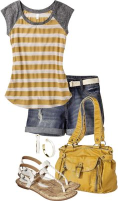 """Casual Summer"" by sjpayne on Polyvore"