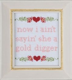 "Kanye West - ""Gold Digger"" 