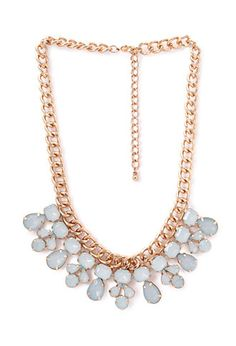 Faux Stone Bib Necklace | FOREVER21