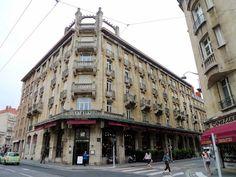 Brasserie Excelsior. Rue Mazagran 3 Nancy (Francia). Lucien Weissenburger