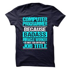 Awesome Shirt for **COMPUTER-PROGRAMMER** - Awesome Shirt for **COMPUTER-PROGRAMMER** (Programmer Tshirts)