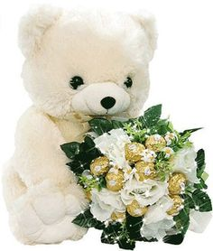 Cute teddy bear emoticon holding bouquet of flowers Gifs, Bear Emoticon, Whatsapp Fun, Rosen Box, Teddy Day, Anniversaire Harry Potter, Image Chat, Flowers For You, Glitter Graphics