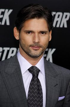 Eric Bana: Your pocket square, ser. You, you are adorable.
