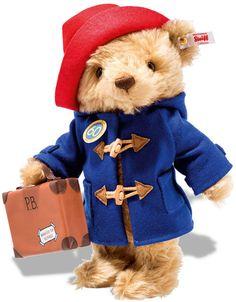 Steiff 690495 60th Anniversary Paddington Bear Limited Edition