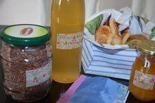 Holunderblüten-Zitronen-Sirup und ein selbst gebasteltes Rezeptheftche