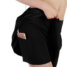 EAST HONG Womens Fitness Movement Short Skirt Lightweight Running Short Skirt