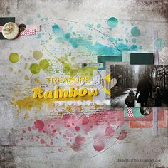 Treasure at the end of rainbow by Riikka Kovasin for 7 Dots Studio