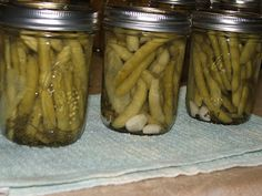 Canning Granny: Dilly Beans