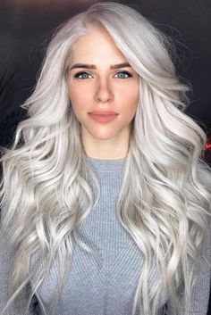 Silver Hair: to Dye or Not to Dye? ★ See more: http://lovehairstyles.com/silver-hair/