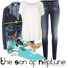 Outfit inspired by The Son of Neptune by Rick Riordan (The Heroes of Olympus series)