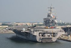 USS Dwight D. Eisenhower CVN-69 by twm1340