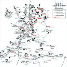 Mapa de Serrablo