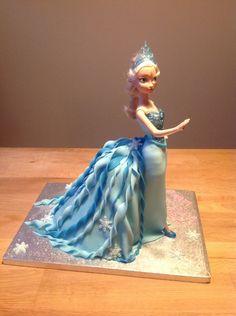 Frozen Ailsa Doll Cake
