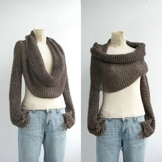 New Season  Brown  Wrap Bolero Scarf Shawl Neckwarmer gift for Women Girl Mom Christmas Gift