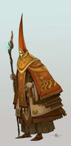 A Standard Gateway Wizard by Muttonhead https://www.facebook.com/CharacterDesignReferences