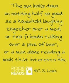"""""""nothing half so good"""" #CSLewis #quote 