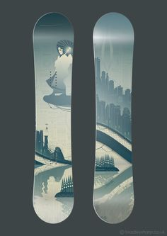 Sky Girl Snowboard designs by brade-s on deviantART