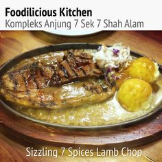 #bestseller #signaturedish  #sizzling #7spices #lambchop #affordable #delicious #foodiliciouskitchen #shahalam #halal #westernfood #jjcmtv3
