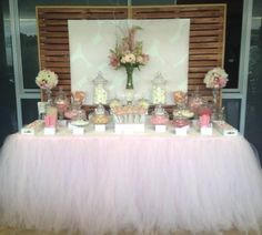 1000 Ideas About Tutu Tablecloth On Pinterest Parties