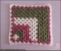 Mamma That Makes: Small Mitred Blanket