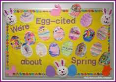 Spring Bulletin Boards For Preschool bulletin board ideas for daycare easter crafts Spring Art & Crafts, Bulletin Boards and Poems Daycare Crafts, Classroom Crafts, Preschool Crafts, Classroom Door, Classroom Ideas, Infant Classroom, Classroom Calendar, Preschool Lessons, Daycare Ideas