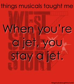 things musicals taught me: West Side Story Broadway Quotes, Musical Theatre Broadway, Theatre Quotes, Movie Quotes, William Shakespeare, Lessons Learned, Life Lessons, West Side Story, Theatre Nerds